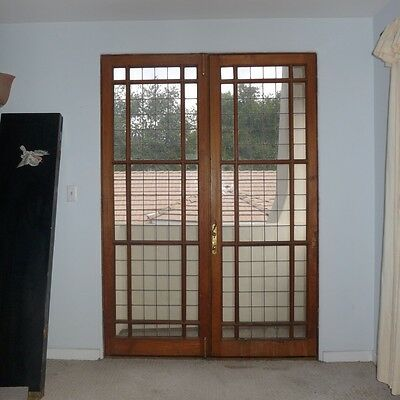 Antique Mahogany Doors From England--Pasadena Area Pick Up only or send shipper
