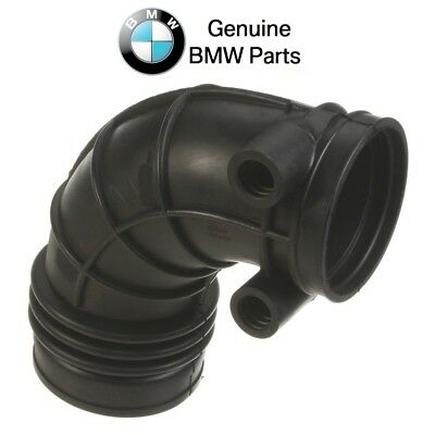 PAIR For BMW E38 from 05//97 Air Mass Sensor Throttle Housing Intake Boot OES