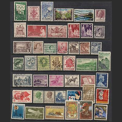 AUSTRALIA:  small lot of stamps [1] -- used --