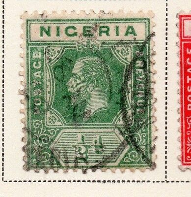 Nigeria 1921-33 Early Issue Fine Used 1/2d. 215290
