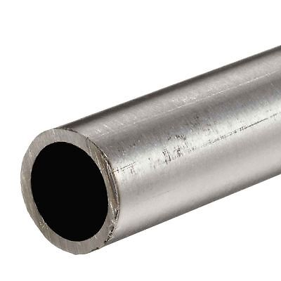 "316 Stainless Steel, Round Tube, OD: 1"", Wall: 0.120"", Length: 12"", Welded"