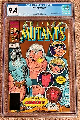 NEW MUTANTS #87 CGC 9.4 - 2nd Print Gold Cover - 1ST appearance of CABLE -STRYFE