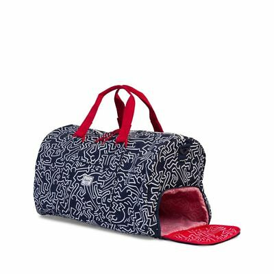 Keith Haring X Herschel Supply Co. Novel Duffle Bag (Peacoat)