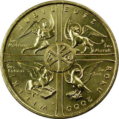 Poland - 2 Zlote - 2000 - Great Jubilee Of Year 2000 - Unc