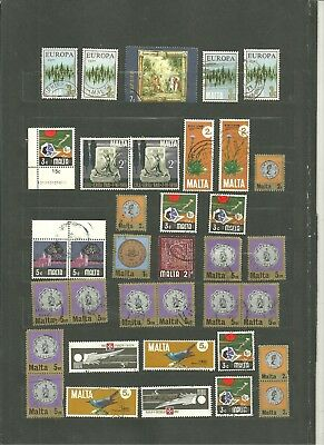 Malta Collection Of Various Selection Used Lh/vf