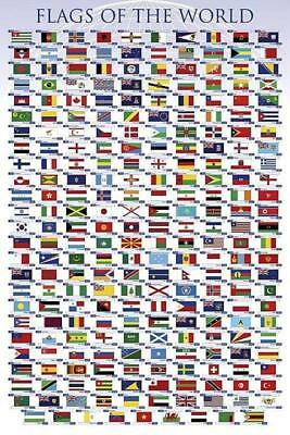 Flags of the World - Maxi Poster 61cm x 91.5cm new and sealed