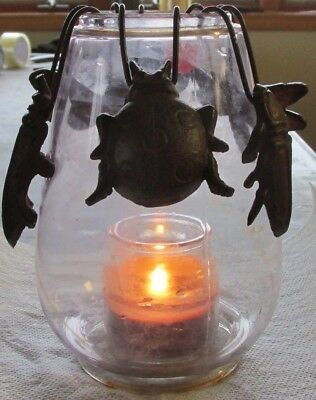 6  Bugs  Butterfly Moth Bee Ladybug Beetle  Hanging  Garden Lamp Window Decor