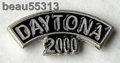 2000  Daytona Beach Florida  Bike Week Rocker Jacket Vest Hat Tac Pin