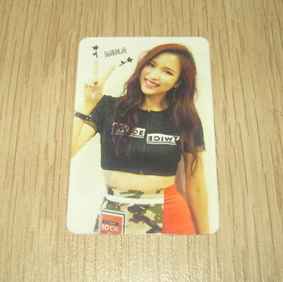 Twice 1st Mini Album The Story Begins MiNa A Photo Card Official K POP