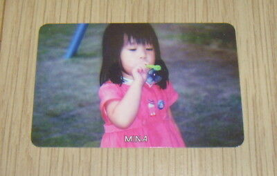 Twice 1st Mini Album The Story Begins MiNa B Photo Card Official K POP