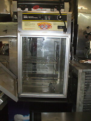 Food Warmer,merchandiser,vapor,115V, All Glass,very Clelan, 900 Items On E Bay