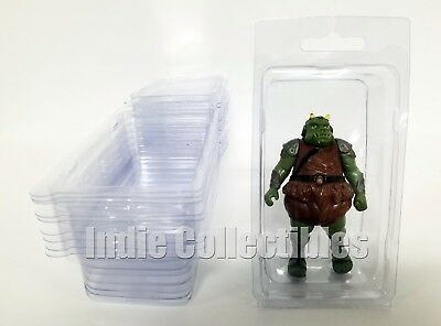 25 Protective Small Stackable Cases Star Wars Action Figure Blister Case Lot