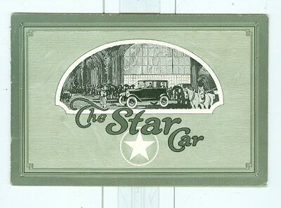 1920s Star Automobiles and Delivery Trucks