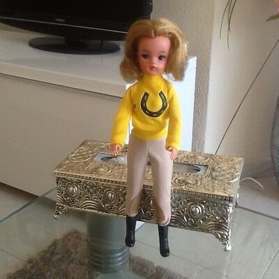 """1978 Sindy doll """"pony rider"""" outfit excellent see photos  no doll now reduced !!"""