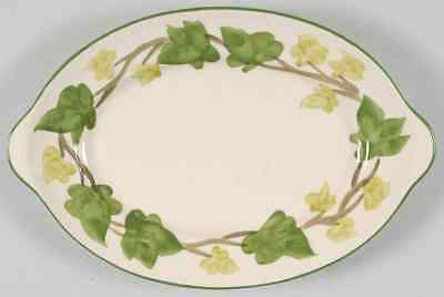 """Franciscan IVY II (MADE IN ENGLAND) 12 1/4"""" Oval Serving Platter 1990204"""