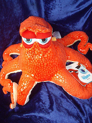 Hank Finding Dory Nemo Disney Store UK Soft toy Octopus New