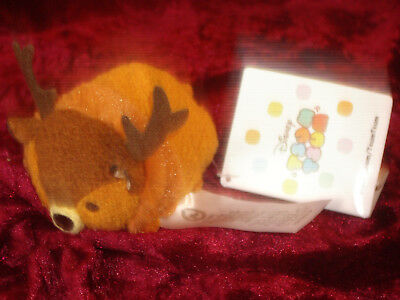 Bambi Stag deer Mini Tsum Tsum Soft Toy Disney New plush genuine Rare