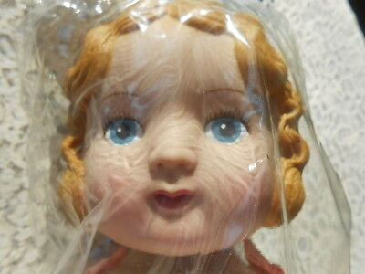 "New Daisy Kingdom Pansy Doll 18"" Blonde/Blue Factory Sealed Crafters Simplicity"