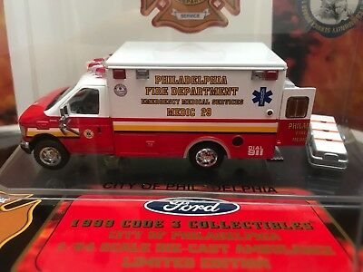 Code 3 Ford E 350 Ambulance EMS Philadelphia Fire Department Feuerwehr USA