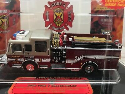 Code 3 LaFrance Pumper Wood River Fire Department Feuerwehr USA