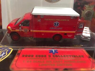 Code 3 Ford E 350 Ambulance Louisville Fire Department Feuerwehr USA