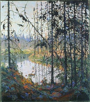 Custom Handmade Oil Painting repro Tom Thomson Northern River