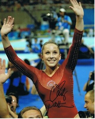 Carly Patterson Autograph