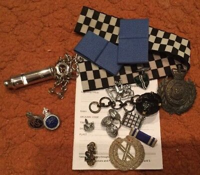 Uk British Police - Collection Of Various Police Items, Job Lot