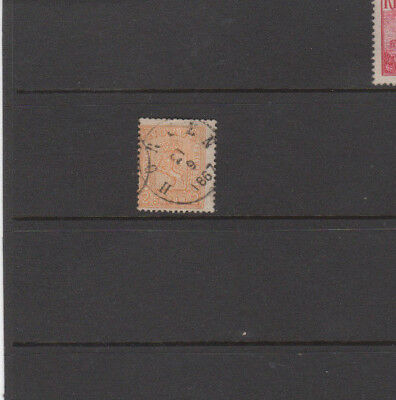 A very nice Good Cat Value Norway 2sk Yellow 1867 Postmarked issue