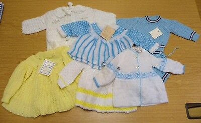 6 x VINTAGE 1970's UNWORN ASSORTED BOYS & GIRLS BABY ITEMS - AGES 0-12 MONTHS