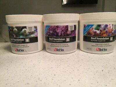 Red Sea Reef Foundation Powder Supplements