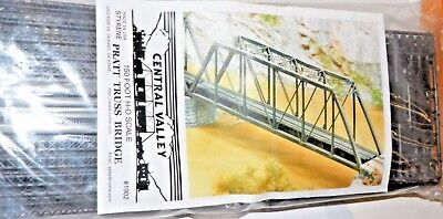 "HO scale 1902 150 Pratt Truss Bridge Kit 20-5/8"" 52.5cm"