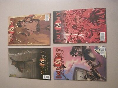 The Mummy~The Rise and Fall of Xango's Ax #1-4 IDW Comics #1 2 3 4 All VFN