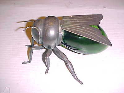 ANTIQUE MAPPIN & WEBB SILVER PLATED HONEY BEE HONEY POT c1910 7 INCH