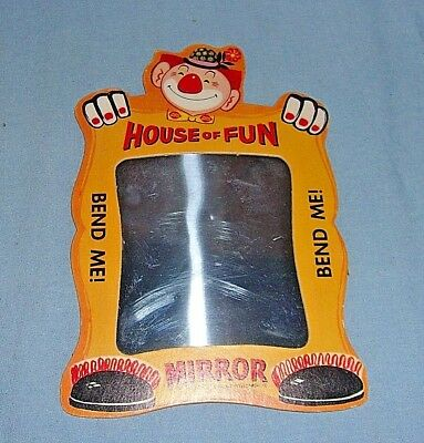 Vintage Dairy Queen House of Fun Mirror 1960