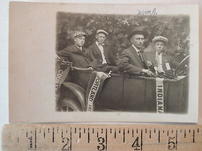 1917 Portland Indiana County Fair Real Photo Postcard RPPC