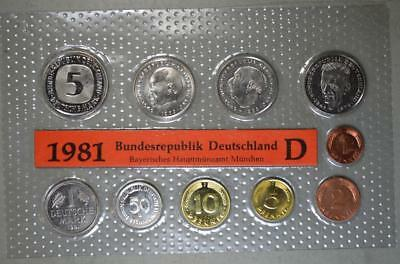 Germany 1981-D Mint Set