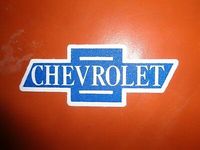 Chevrolet Iron On Patch * Vintage 4 Inches New! Chevy Bow Tie
