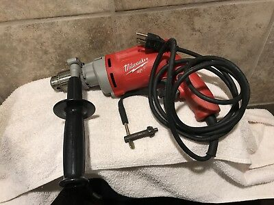 Milwaukee Magnum Drill 8 Amp 1/2In Variable Speed Trigger Heavy Duty Keyed Chuck