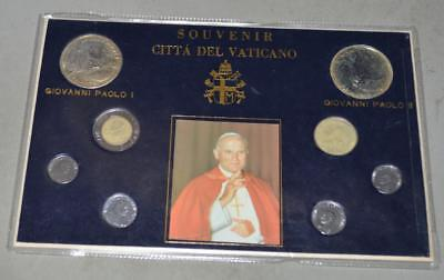 Vatican Souvenir Set - 8 Coins and Medals