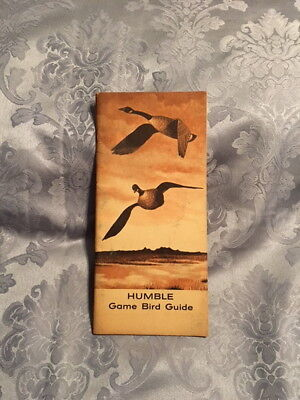 Hunter's Game Bird Guide Vintage Texas New Mexico Humble Duck Geese Mallard