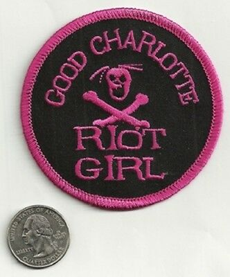 GOOD CHARLOTTE new sew/iron on PATCH rock music band coat jacket