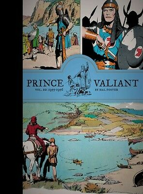 Prince Valiant Vol. 10: 1955-1956 (Hardcover), Hal Foster, Tim Tr. 9781606998007