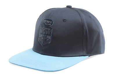 Canterbury Unisex NSW State of Origin 2018 Rugby League Snapback Cap Navy