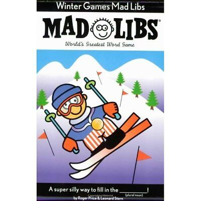 Winter Games (Mad Libs Series) - Paperback NEW Roger Price 2005-11-03