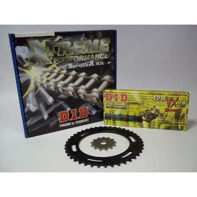 DID Extreme Upgrade Chain and Sprocket Kit Honda CG 125 F/J/K Brazil (1985-1994)