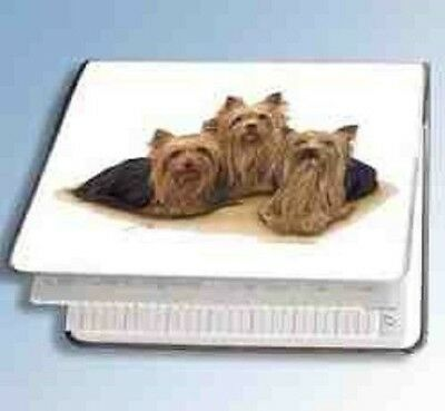 Retired YORKSHIRE TERRIER Softcover Address Book artwork by Robert May