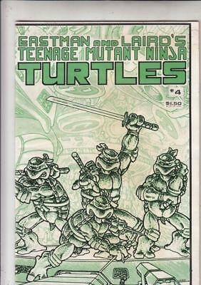 Teenage Mutant Ninja Turtles # 4 strict VF+content  1st  printing!