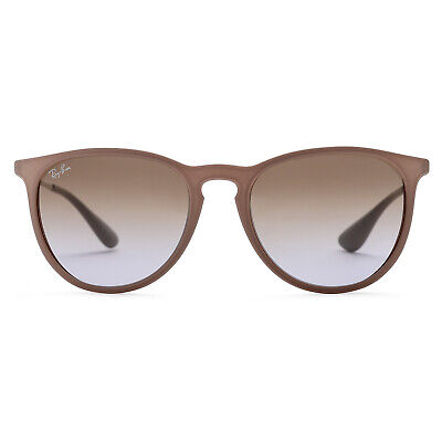 Ray-Ban Erika Classic Sunglasses 54mm (Brown Silver / Brown Violet Gradient)