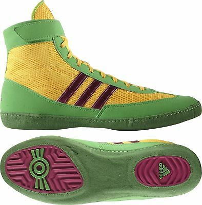 adidas Combat Speed 4 Mens Wrestling Shoes - Yellow